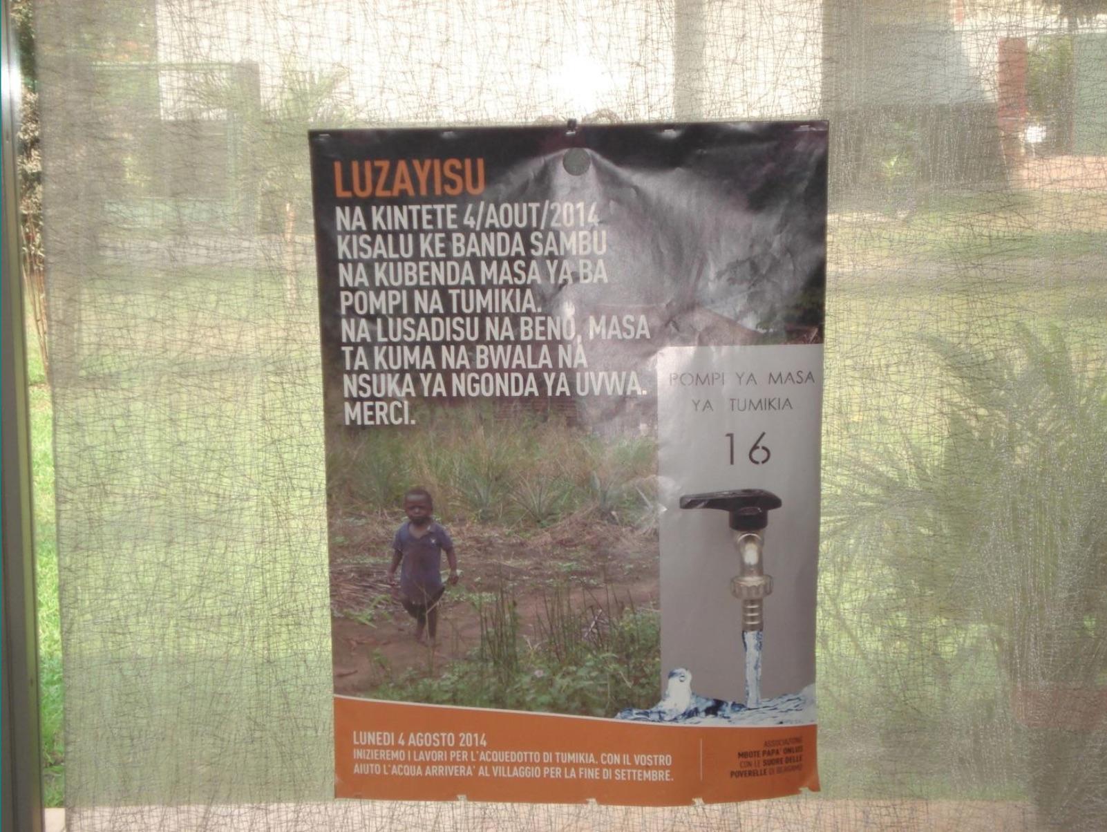 manifesto lavori in kikongo italiano